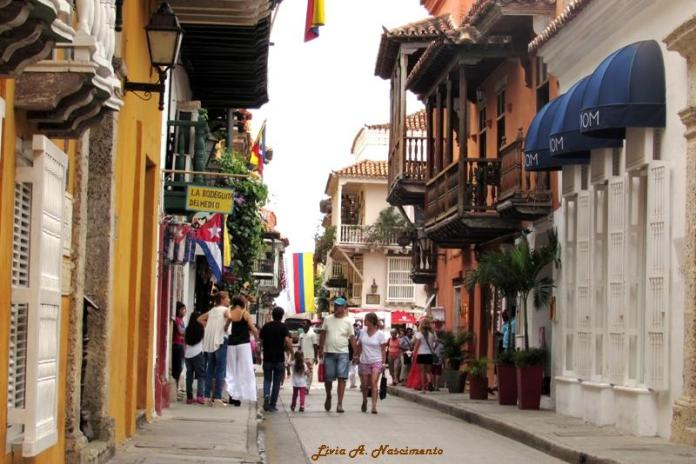 It´s easy and great to get lost in the Ciudad Amurallada´s streets!